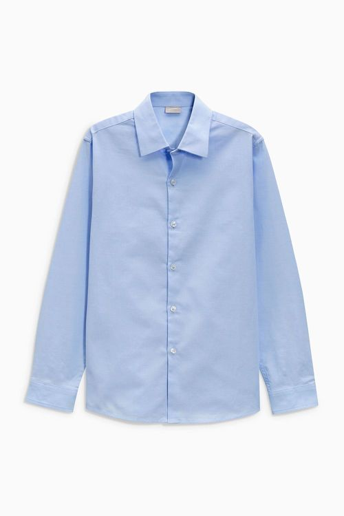 Next Long Sleeve Smart Oxford Shirt (12mths-16yrs)