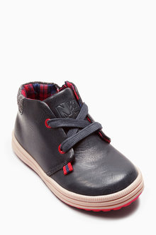 Next Lace-Up Desert Boots (Younger Boys)