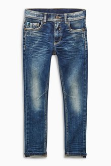 Next Dark Blue Vintage Skinny Jeans (3-16yrs)