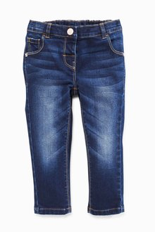 Next Denim Dark Wash Skinny Jeans (3mths-6yrs)