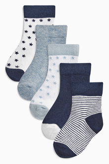 Next Socks Five Pack (Younger Boys) - 173770