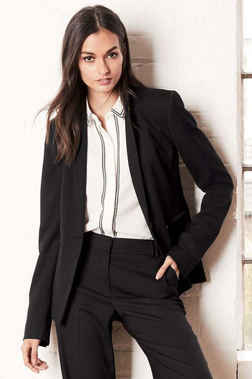 Next Tailored Single Breasted Jacket  - Petite