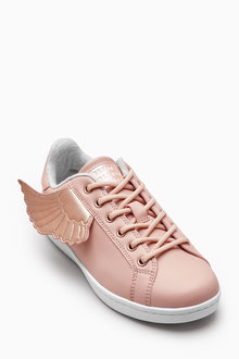 Next Pink Wings Trainers (Older Girls)