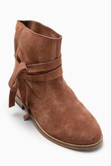Next Tie Wrap Boots (Older Girls)
