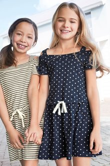 Next Cold Shoulder Dress (3-16yrs)