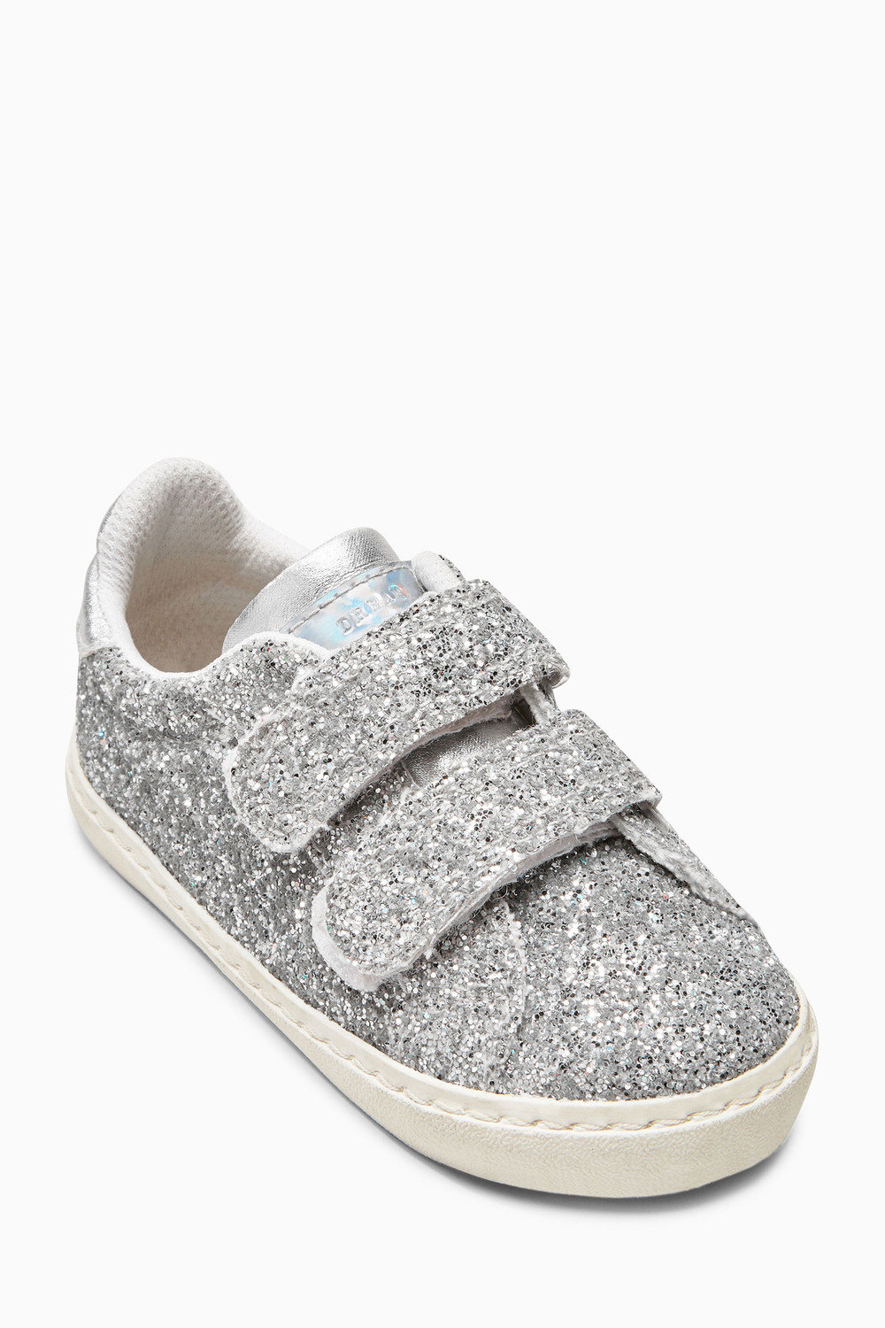 5ed77070f7d Next Silver Glitter Trainers (Younger Girls) Online