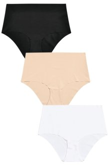 Next Black/White/Nude No VPL Midi Briefs Three Pack