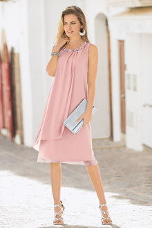 Together Drape Front Dress