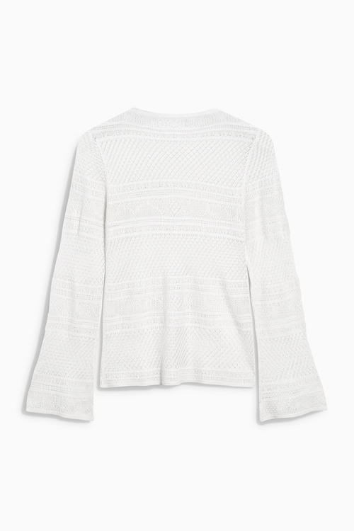 Next Pointelle Sweater