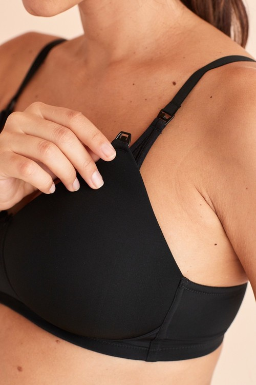 Next Non Wire Padded Nursing Bras Two Pack