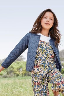 Next Denim Quilted Jacket (3-16yrs)