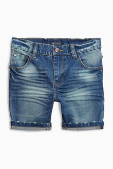 Next Denim Five Pocket Shorts (3-16yrs)