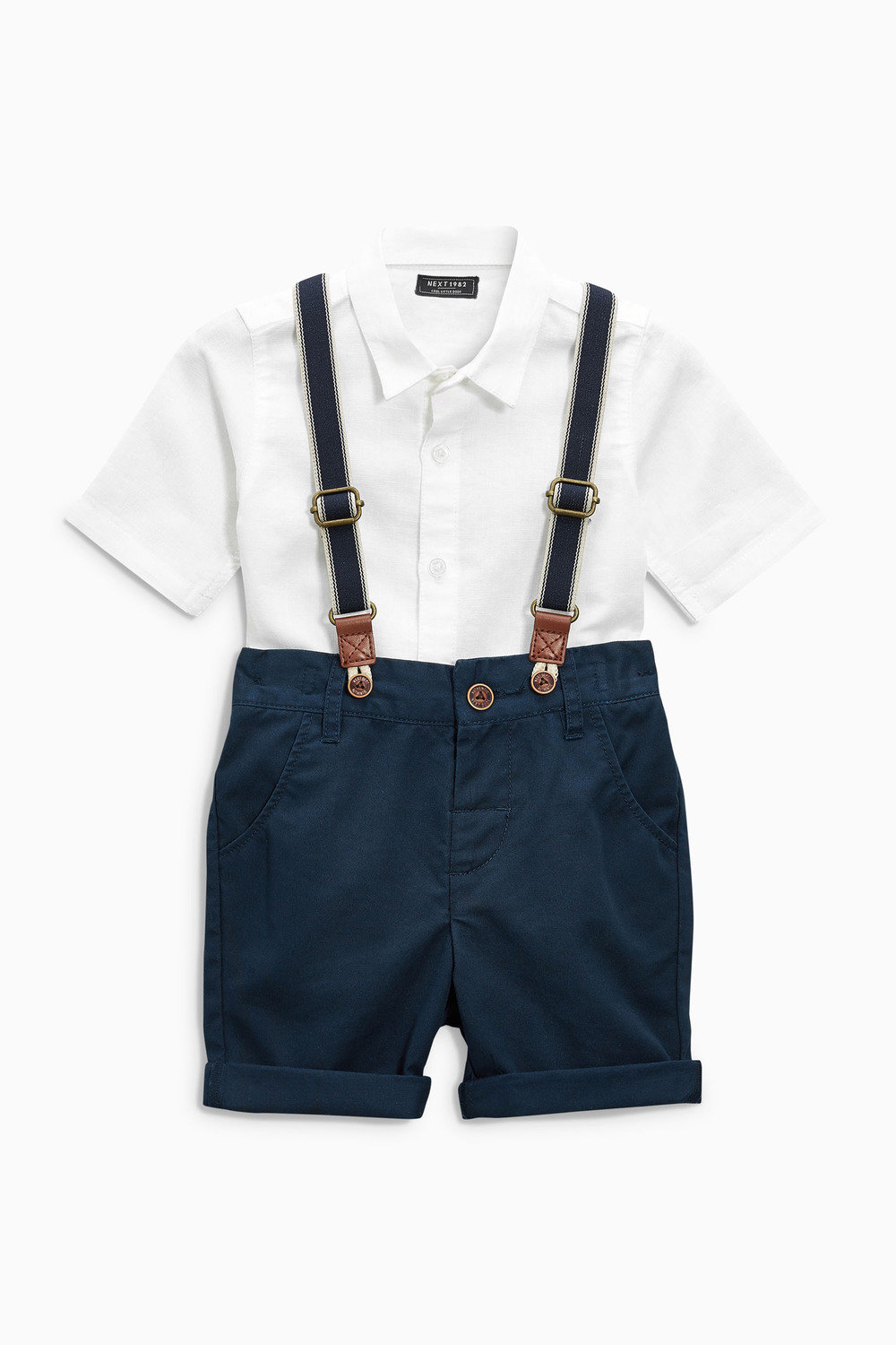 8a3382f06c6e Next Shirt And Shorts Set With Braces (3mths-6yrs) Online
