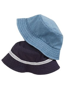 Next Blue Fisherman Hats Two Pack (Younger Boys)