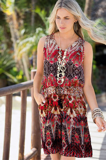Together Printed Playsuit