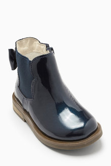 Next Chelsea Bow Boots (Younger Girls)