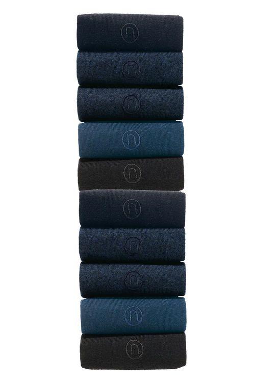 Next N Embroidered Socks Ten Pack