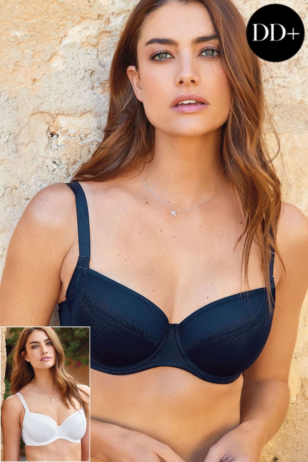 7576169ba8 Next Georgie DD Plus Non Pad Full Cup Bras Two Pack Online