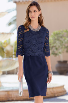 Together Lace Layer Dress