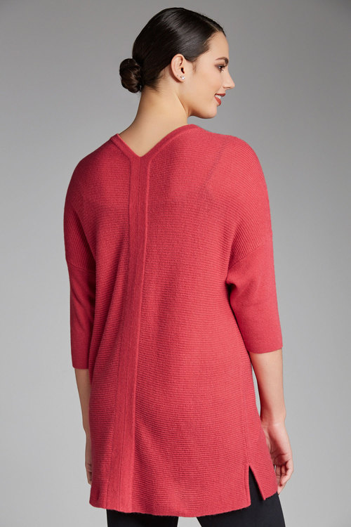 Plus Size - Sara Ribbed Slouchy Knit