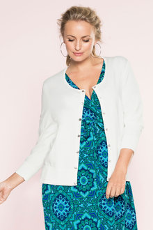 Plus Size - Sara Popper Cardigan