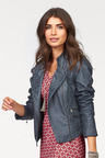 Urban Leather-Look Jacket