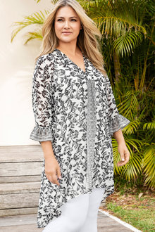 Plus Size - Sara Fashion Tunic
