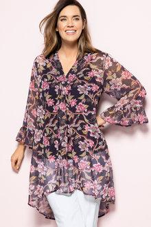 Plus Size - Sara Fashion Tunic