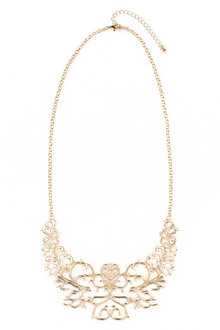 Paisley Statement Necklace - 175855