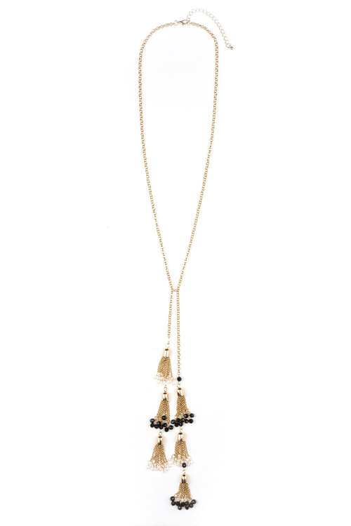 Multiple Tassel Necklace