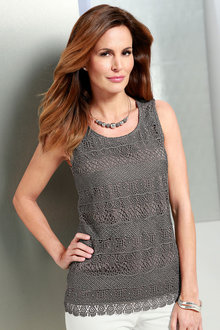 Capture European Lace Tank - 175884