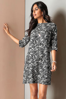 Urban Printed Dress - 175886