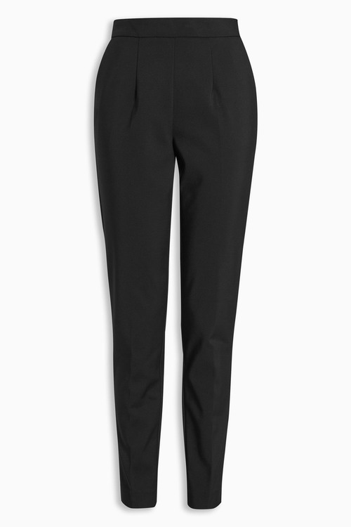 Next High Waist Cotton Skinny Trousers