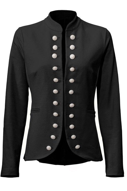 Heine Military Button Blazer