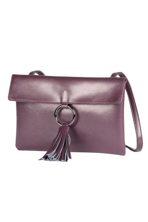Leather Tassel Bag