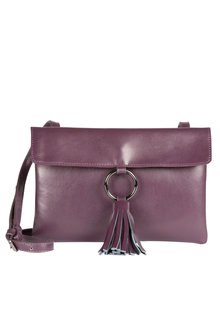 Leather Tassel Bag