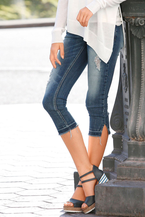 Urban Cropped Jeans