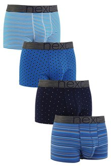Next Fashion Mixed Hipsters Four Pack