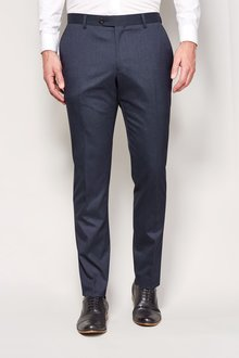 Next Marl Suit: Trousers - Pleat Fit