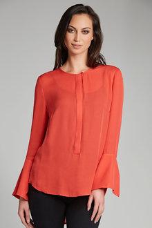 Grace Hill Silk Shirt - 177486