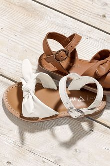 Next Bow Sandals (Younger Girls)