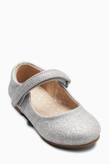 Next Mary Jane Glitter Shoes (Younger Girls)
