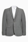Next Marl Suit: Jacket - Skinny Fit