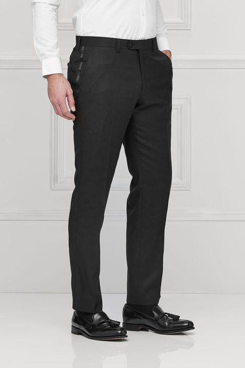 Next Signature Textured Tuxedo Tailored Fit Suit: Trousers