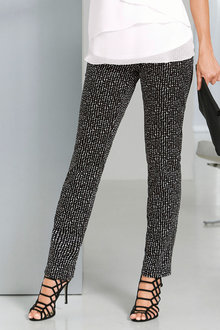 Capture European Printed Slim Pants