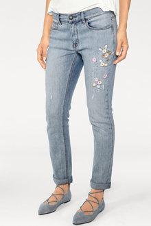 Heine Embroidered Detail Jeans