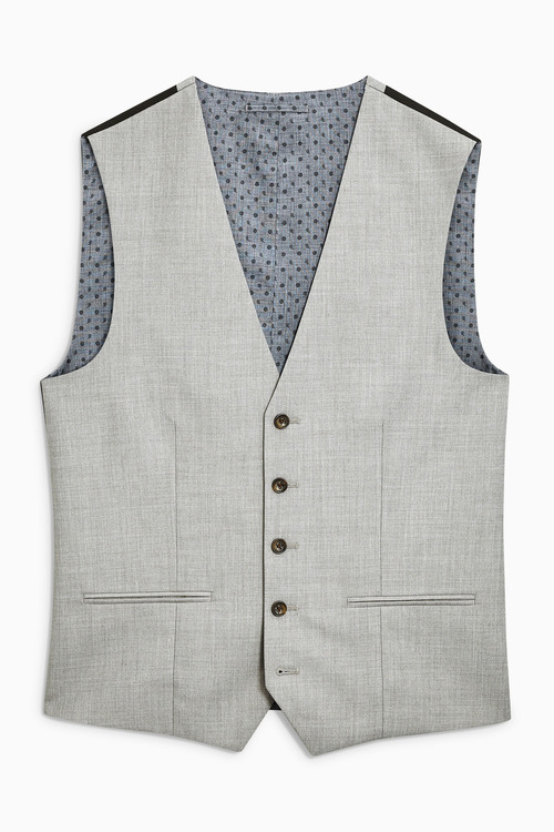 Next Marl Suit: Waistcoat
