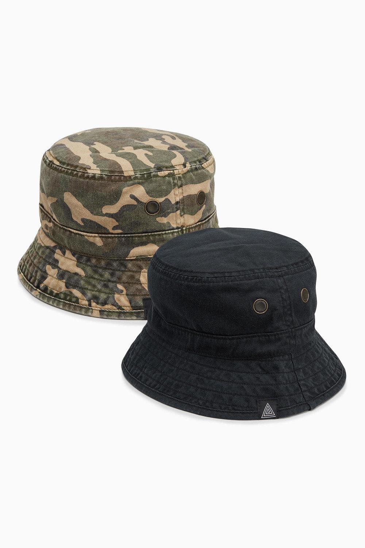 f10f3672bfccc Next Khaki Fishermans Hat Two Pack (Older Boys) Online