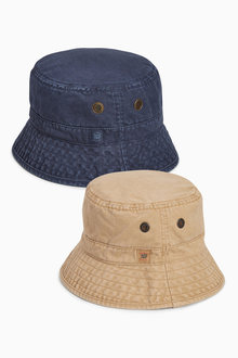 Next Navy/Stone Fishermans Hats Two Pack (Older Boys)