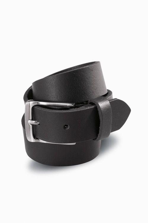 Next Black Leather Belt